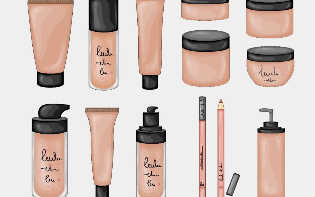 cosmetics cream foundation